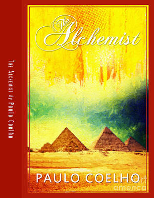 The Alchemist Book Cover Poster Art 3 Print by Nishanth Gopinathan