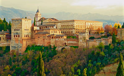 Photograph - The Alhambra  by Rita Mueller