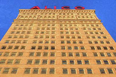 Digital Art - The Alico Building by JC Findley