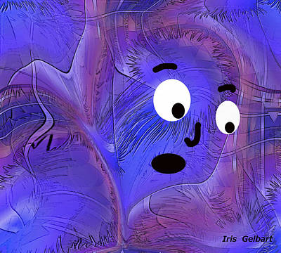 Digital Art - Boo Berry Got Nothin' On Me by Iris Gelbart