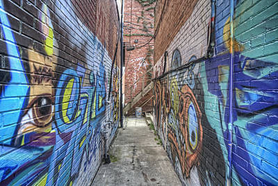 The Alleyway Art Print by Jim Pearson