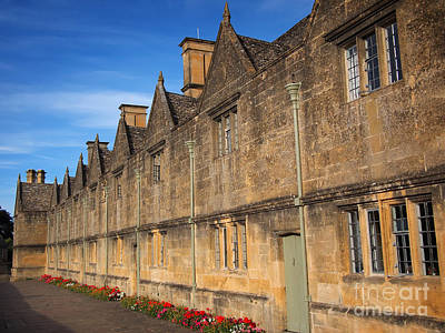 Photograph - The Almshouses In Chipping Campden by IPics Photography