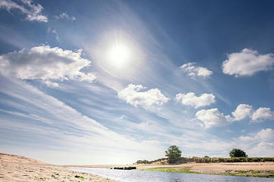 Photograph - The Aln Estuary, Alnmouth, Northumberland by Jean Gill