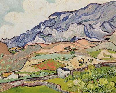 Painting - The Alpilles by Artistic Panda