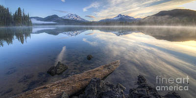 Bend Oregon Photograph - The Alpine Lake by Twenty Two North Photography