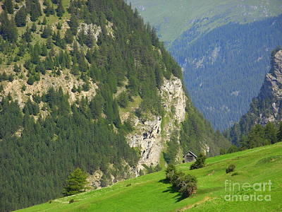 The Alps In Spring Art Print