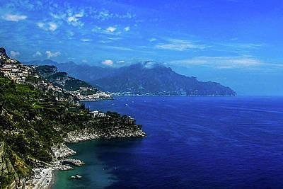 Photograph - The Amalfi Coast by Marilyn Burton