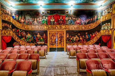 Death Valley National Park Photograph - The Amargosa Opera House by Mimi Ditchie