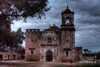 Photograph - The Amazing Historic Mission San Jose San Antonio Texas by Wayne Moran