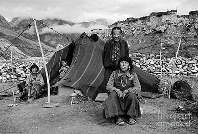 Photograph - The Amchi Lama And His Family - Dolpo Nepal by Craig Lovell