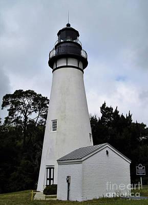Photograph - The Amelia Island Lighthouse by D Hackett
