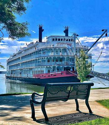 Photograph - The Amercan Princess Boat by Renee Marie Martinez