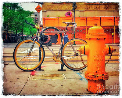 Photograph - The American Darling Bicycle by Craig J Satterlee