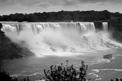 Eduardo Tavares Royalty-Free and Rights-Managed Images - The American Falls by Eduardo Tavares