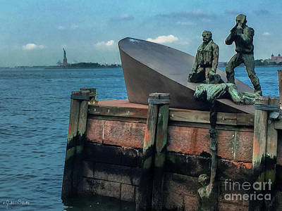 Merchant Mariners Photograph - The American Merchant Mariners Memorial #2 by Julian Starks