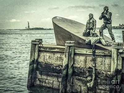 Merchant Mariners Photograph - The American Merchant Mariners Memorial #3 by Julian Starks