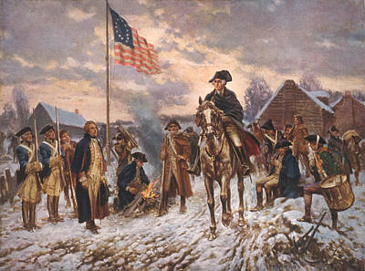 The American Revolution, George Art Print