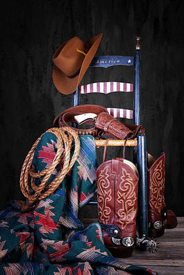 Cowboy Hat Photograph - The American West by Tom Mc Nemar