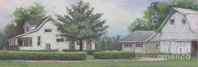 The Amerine Farm Art Print by Terri  Meyer