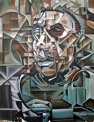 Portrait Painting - The Analytic by Martel Chapman