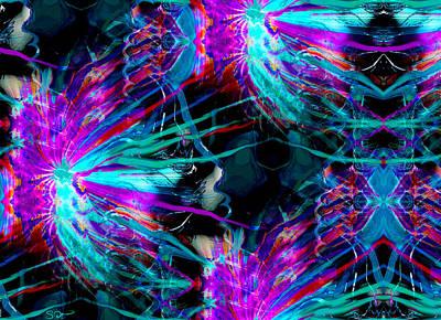Emotion Digital Art - The Anatomy Of Dreams by Abstract Angel Artist Stephen K