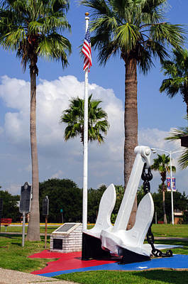 Photograph - The Anchor Of Texas City by Tikvah's Hope