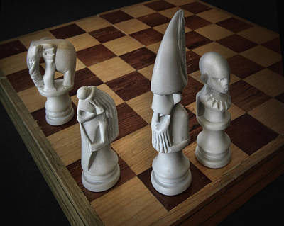 Photograph - The Ancient Game Of Chess by David and Carol Kelly