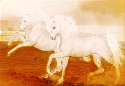 Painting - The Andalusians by Valerie Anne Kelly