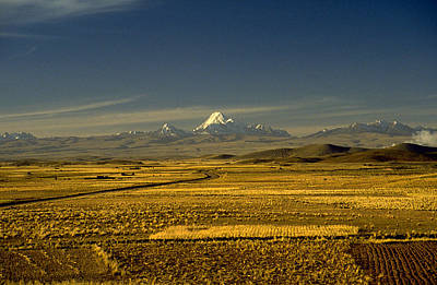 The Andes Art Print by Michael Mogensen