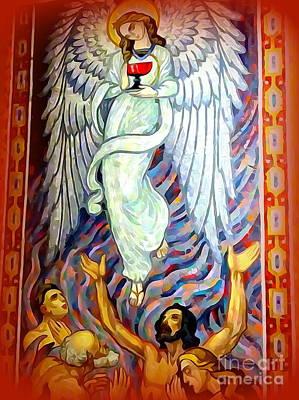 Digital Art - The Angel by Ed Weidman