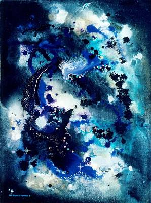 The Angel Horses Art Print by Lee Pantas