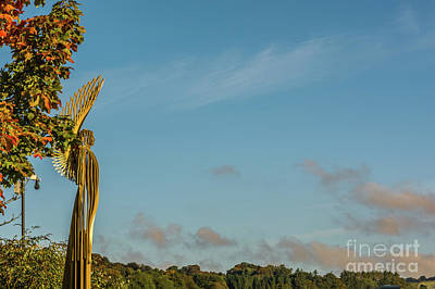 Photograph - The Angel In Autumn by Steve Purnell