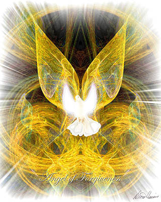 The Angel Of Forgiveness Art Print