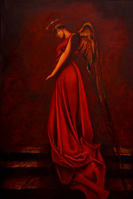 Giorgio Painting - The Angel Of Love by Giorgio Tuscani