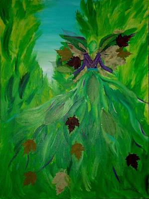 Angels Breath Painting - The Angel Of Spring by Milagros Phillips