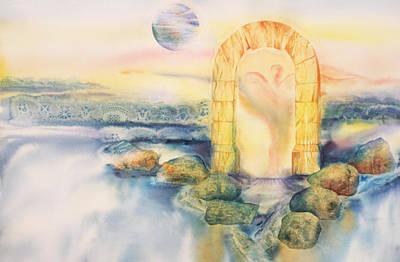 The Angel Within Print by Tara Moorman