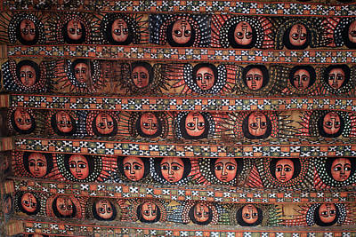The Angels Of Debre Birhan Selassie Church Art Print