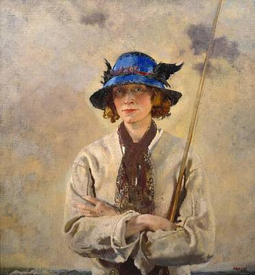 Sir William Orpen Painting - The Angler by MotionAge Designs