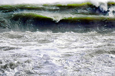 Photograph - The Angry Sea by Olivier Le Queinec