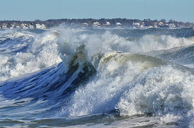 Photograph - The Angry Sea by Tricia Marchlik