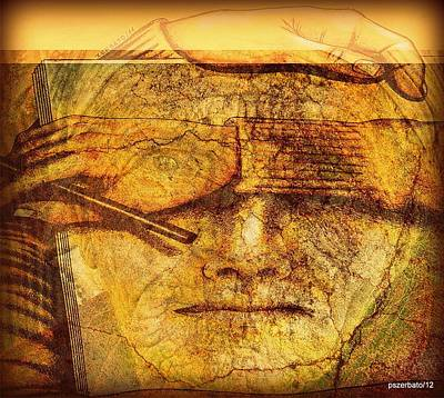 To Know Digital Art - The Anguish Of The Return Lives In Your Eyes by Paulo Zerbato