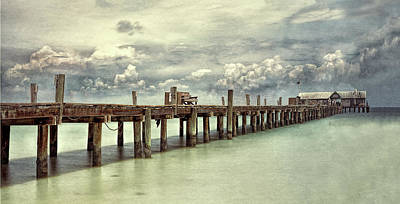 Photograph - The Anna Maria Pier by Gordon Ripley