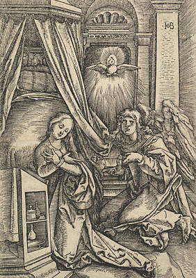 Relief - The Annunciation by Hans Baldung Grien