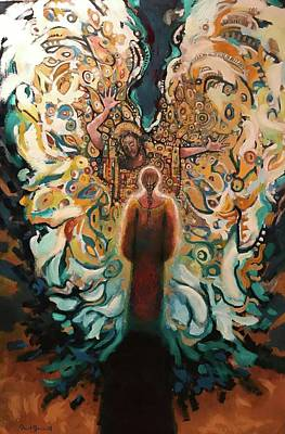 Painting - The Annunciation II by Daniel Bonnell