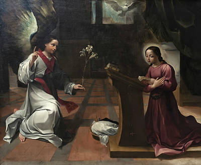 Painting - The Annunciation by Ludovico Carracci