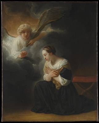 The Annunciation Of The Death Of The Virgin Original by Samuel van Hoogstraten