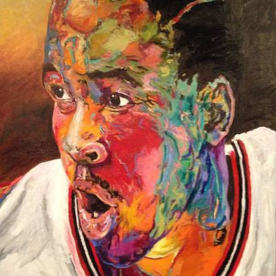 Painting - The Answer by Reggie Jackson