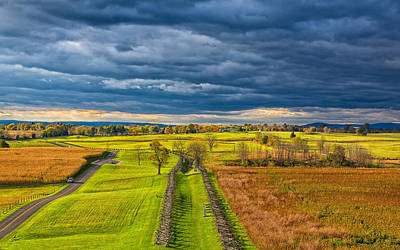 Photograph - The Antietam Battlefield by John M Bailey
