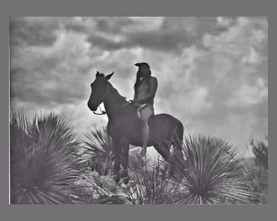 Frederic Remington Digital Art - The Apache Scout by John Feiser