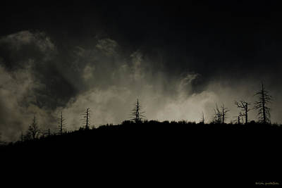 Earth Burned Photograph - The Apocalypse by Brian Gustafson